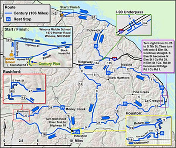Century Bike Route