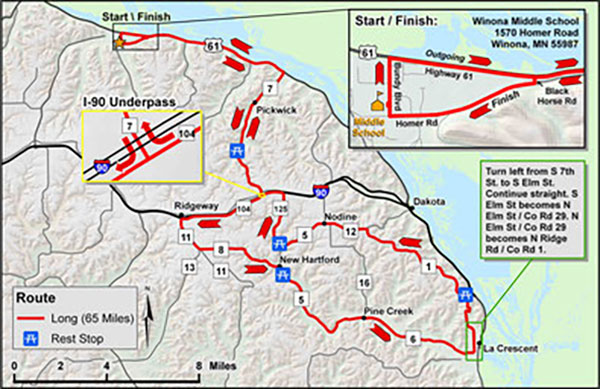 Long Bike Route